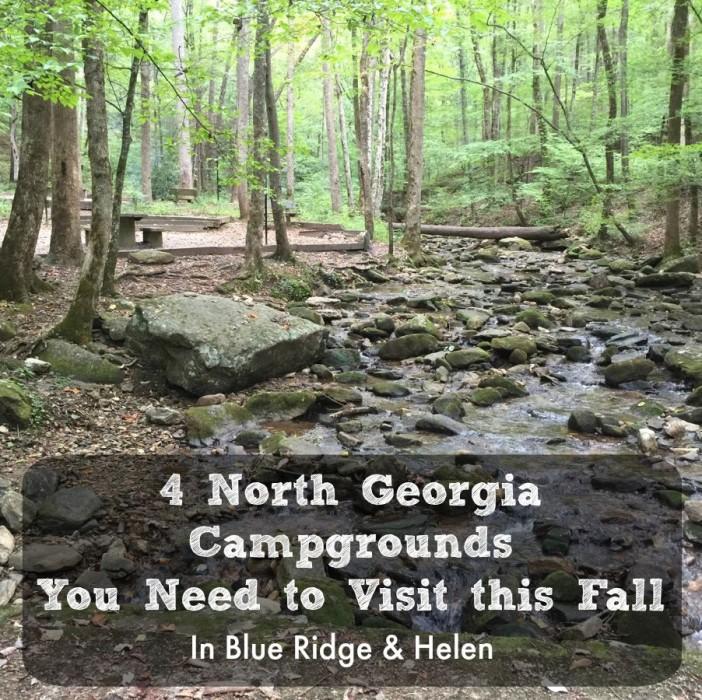 camping in blue ridge