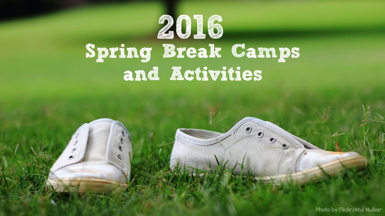 spring break camps 2016