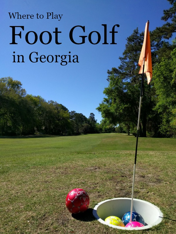 Foot Golf in Georgia at Sea Palms Resort on St. Simons Island