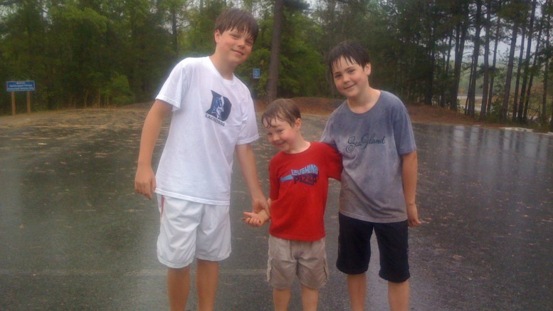 Hiking Providence Canyon State Park in the Rain