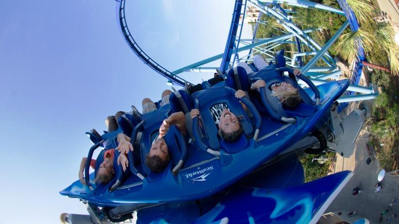 SeaWorld Orlando rides