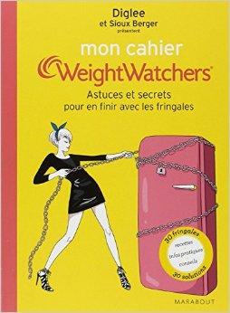 mon cahier weightwatchers grignotage