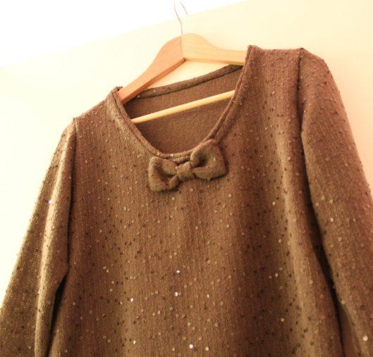 Mon pull à paillettes - Les lubies de Louise (3 sur 5)