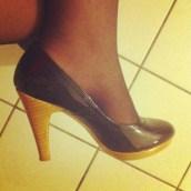 ... et mes chaussures qui font mal aux pieds