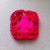 J'ai appris à faire un granny square