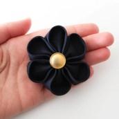 DIY une fleur en tissu