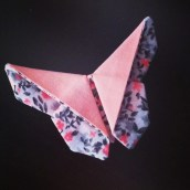 Un papillon en tissu pour un DIY original