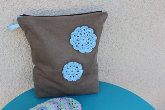 Mon sac à crochet et fleur en crochet - les lubies de louise (2 sur 6)