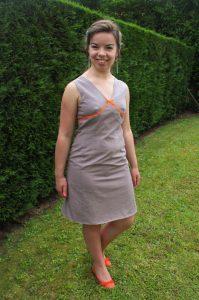 Robe à pois et détails fluo - Les lubies de louise (4 sur 7)