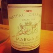 Nous avons bu un vin plus vieux que nous