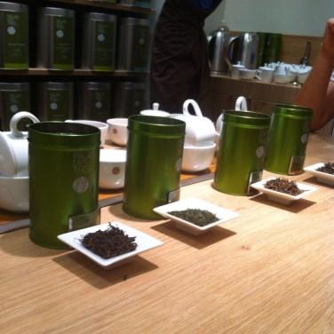 J'ai goûté des thés grands crus