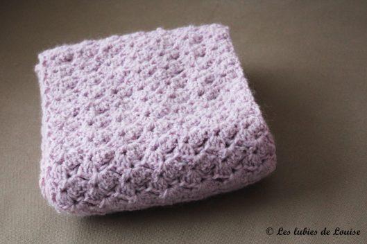 Mon écharpe en crochet -  les lubies de louise