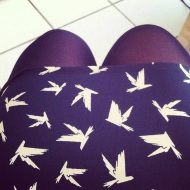 Envolée de petits oiseaux ♥