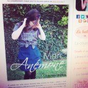 Anémone est sur le blog