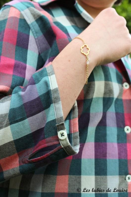 Chemise à carreaux pour Alice - Les lubies de louise-7