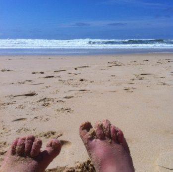 Petit break à l'océan