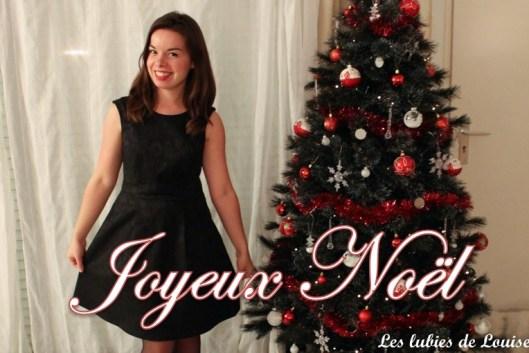 ma robe de Noel - les lubies de Louise-titre