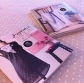 J'ai reçu de chouettes livres pour les débutants en couture