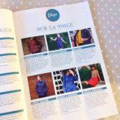 Je suis dans le magazine Savoir tout faire en couture