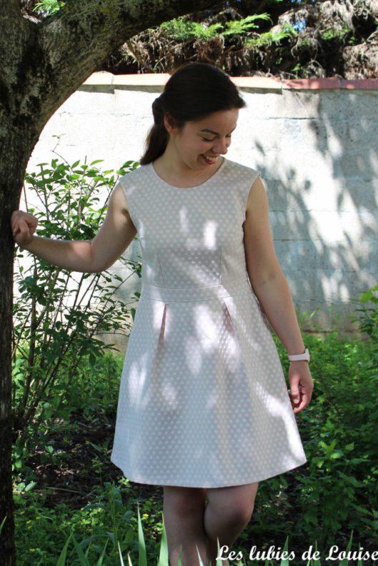 Ma robe rétro à pois - les lubies de louise-5