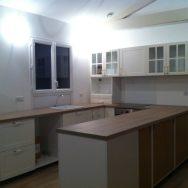 La cuisine est presque terminée