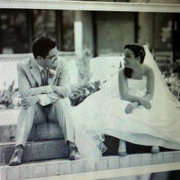 C'est notre anniversaire de mariage ♥