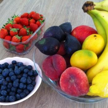 On a un peu craqué sur les fruits !!