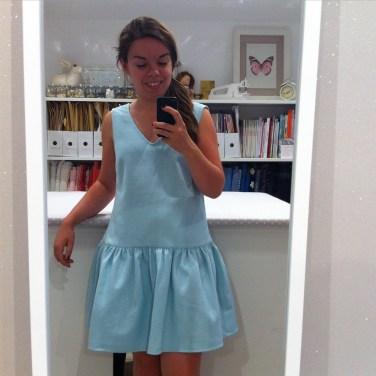 Ma robe jade est terminée