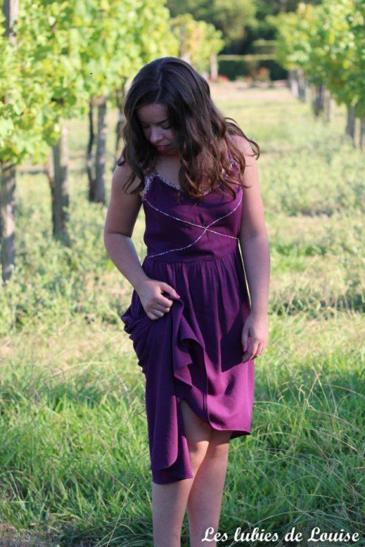 Robe centaurée mariage violet - les lubies de louise-10