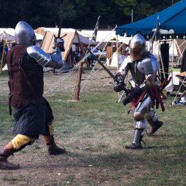 Combat de chevaliers