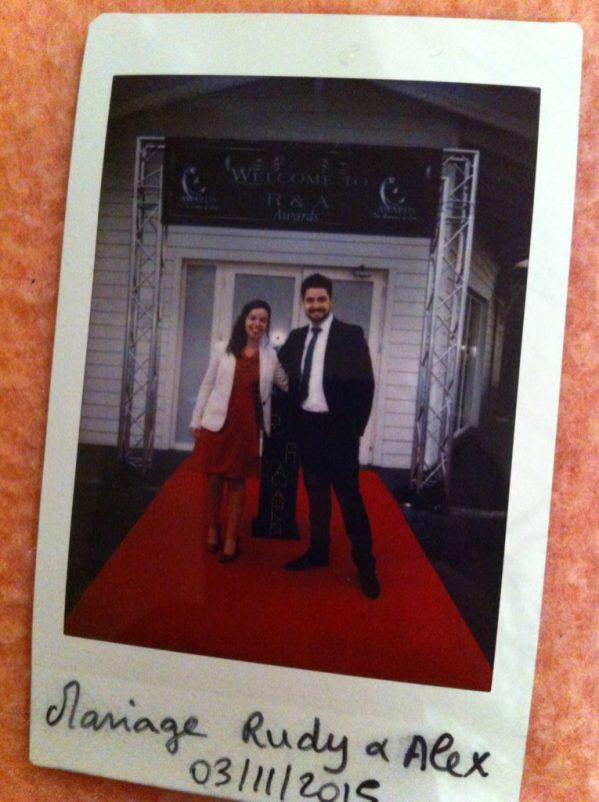 Mariage tapis rouge !