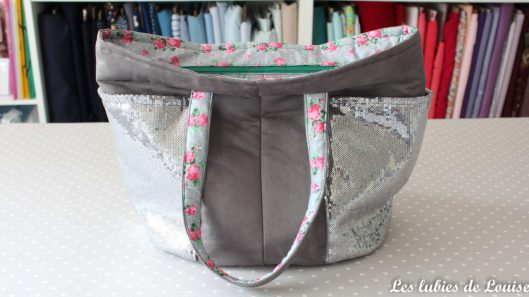 sac cabas odéon paillettes - les lubies de louise-1