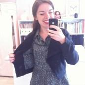 Ma veste assortie à ma robe, la classe !