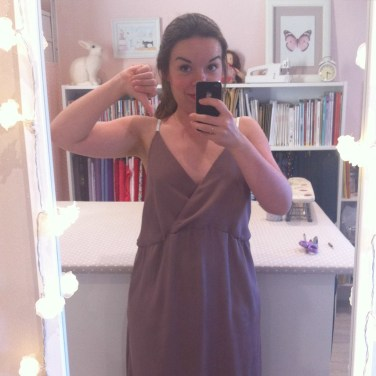 Cette robe me donne des suées !