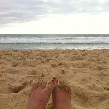 Après le travail, direction la plage