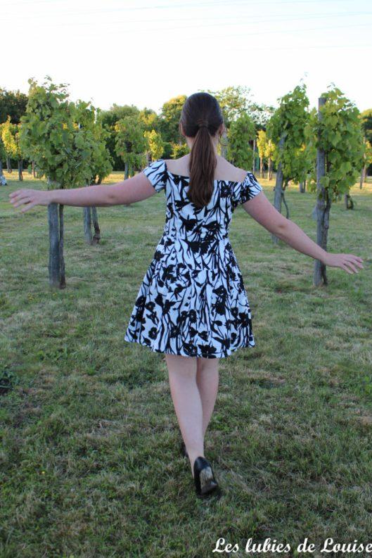 Seda dress pauline alice black and white- les lubies de louise-17