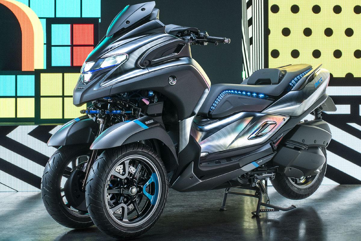 yamaha 3ct le nouveau scooter yamaha 3 roues 2019 fera 300cc. Black Bedroom Furniture Sets. Home Design Ideas