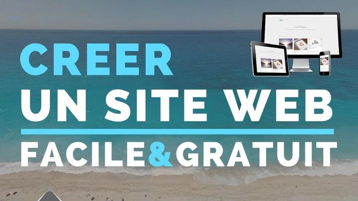 Creer site web gratuit