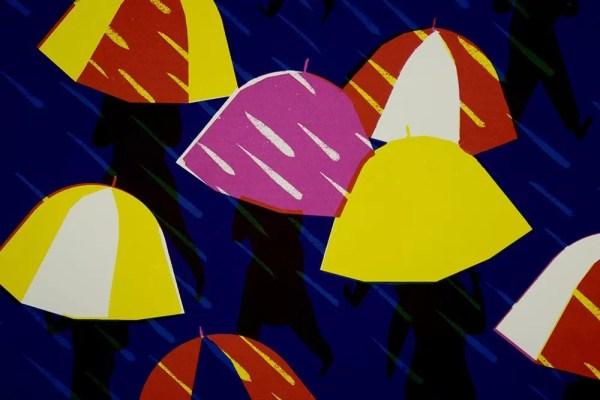 Les Parapluies - Virginie Morgand