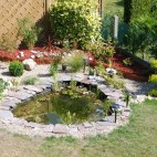 bassin rouen les mains vertes jardin