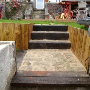 après 2 (escalier + accès)