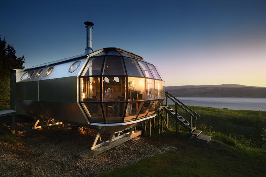 Maison en bois et alu
