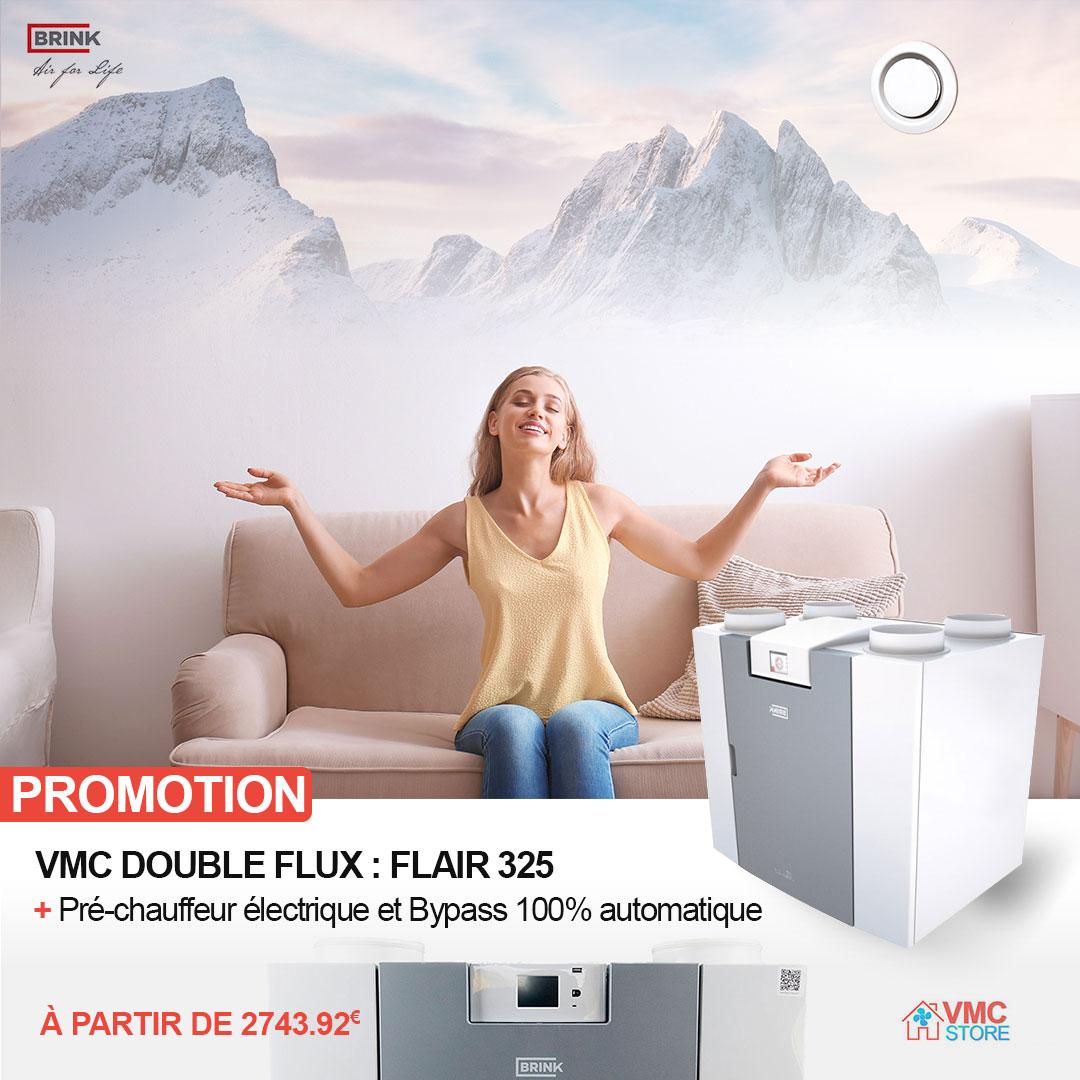 Vente de VMC double flux