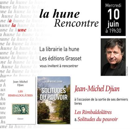 La hune - Jean-Michel Djian - Juin 2015