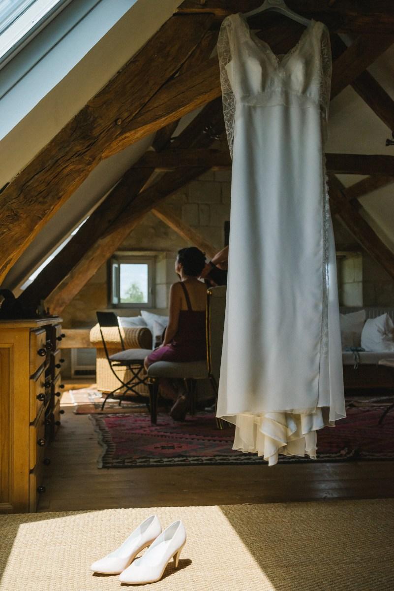 mariage chic prieuré Saint-Ellier