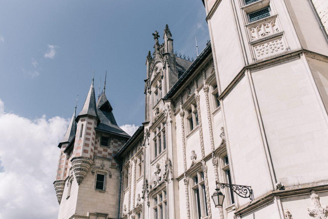 mariage mairie de Saumur, façade mairie