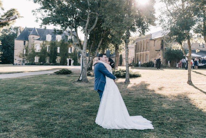 mariage Nantes couple manoir jahotiere