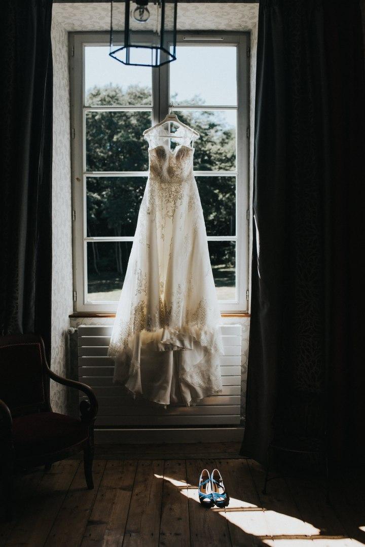 Robe mariée manoir de la jahotiere Nantes