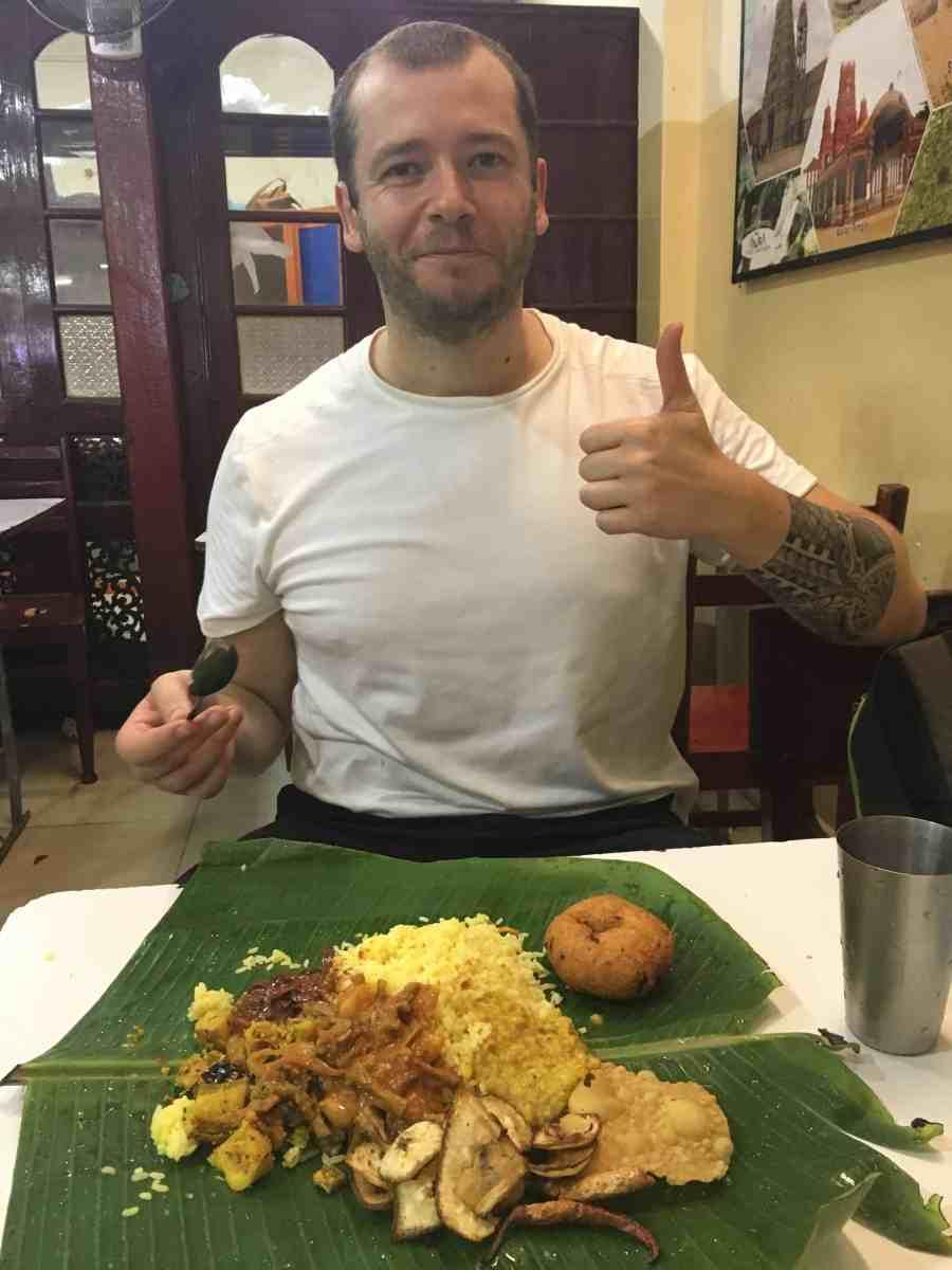 Plat srilankais pour Jeff