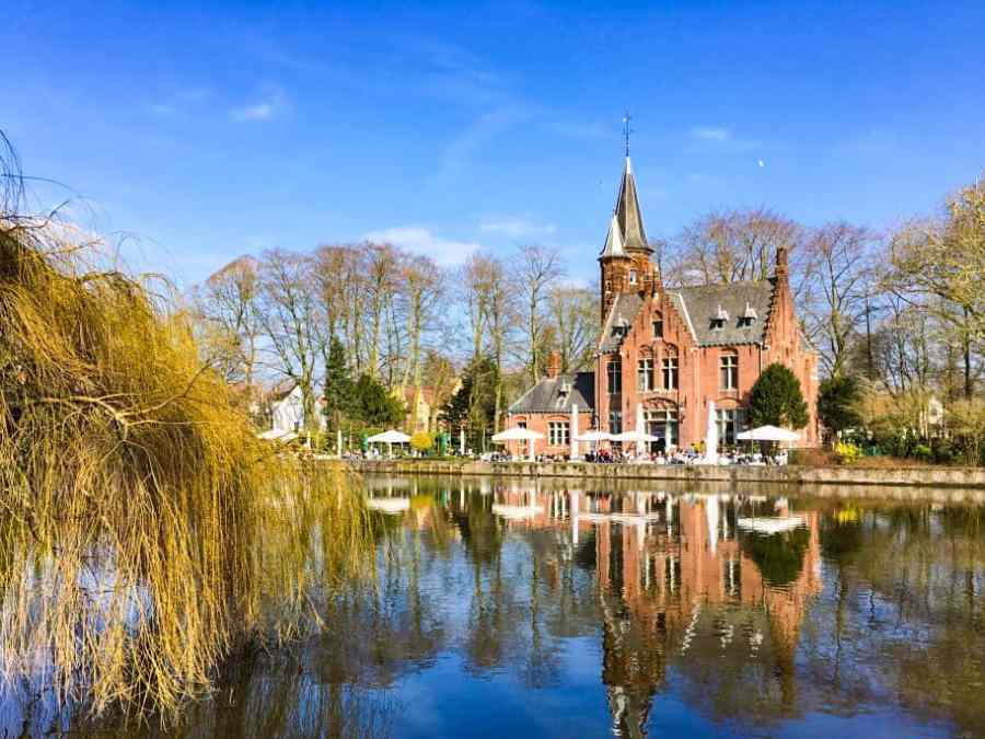 minnewater-bruges-lac